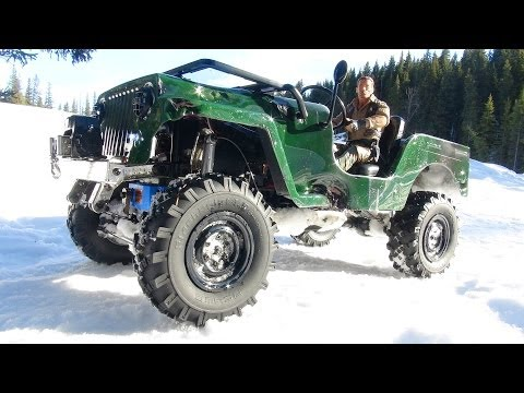 RC ADVENTURES - SAWBACK 4x4 JEEP w/ RC4WD Warn Winch