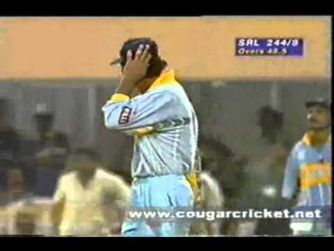 Sri Lanka Vs India World Cup 1996 Semi Final Highlights video