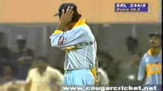 Sri Lanka Vs India World Cup 1996 Semi Final Highlights