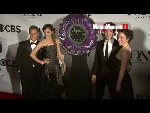 2013 Tony Awards - Scarlett Johansson, Zachary Quinto, Matthew Morrison, Tom Hanks
