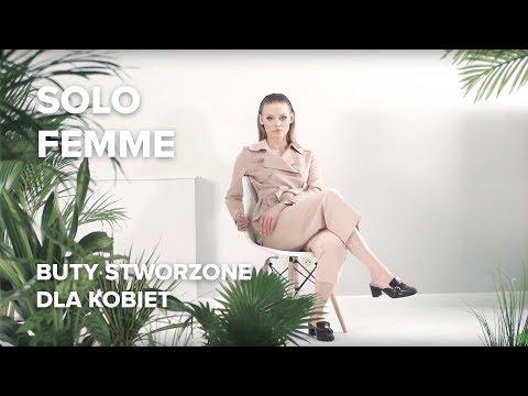 Solo Femme - Buty Stworzone Dla Kobiet