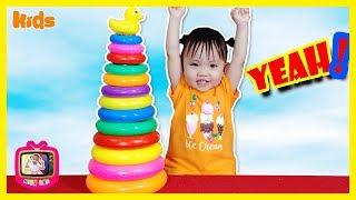 ✅Trò chơi THÁP VỊT MÀU SẮC 🔴 Kids songs 🔴 Baby learns color 🔴 DẠY BÉ HỌC ONLINE 🔴 MINH ANH TV 🔴