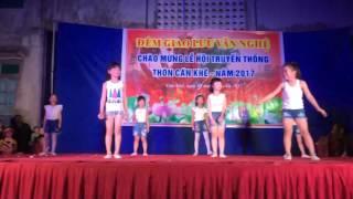 Nhảy Xuân Yêu Thương Hội Làng Cán Khê Nk. Đông Anh Hà Nội