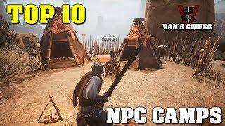 Conan Exiles: My Top 10 NPC CAMPS for Tier 3/4 Thralls