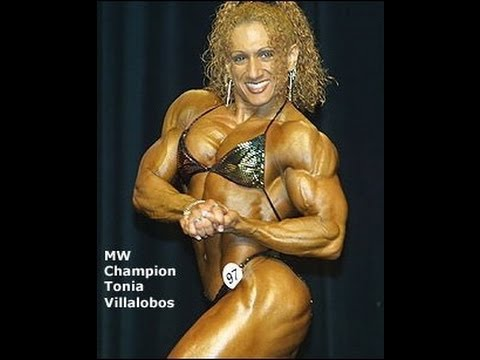Tonia Moore/Villalobos on Fox Sports Net TV 2001 NPC Natl's MW Champ
