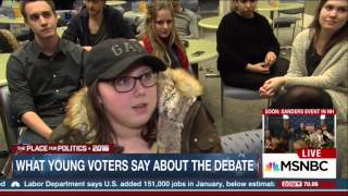 "Young Women In NH ""Shrugging"" Off Clinton's Candidacy"