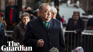 Alex Salmond denies rape and sexual assault charges