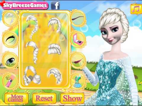 Elsa no makeup