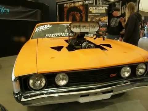Tuff falcon GT  XA COUPE RACER is WRAPPED in ViNYL
