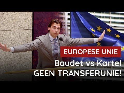 Baudet vs kartel: GEEN EU-transferunie!