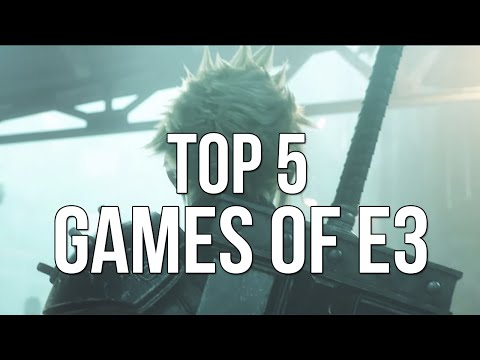 Top 5 Games of E3 2015