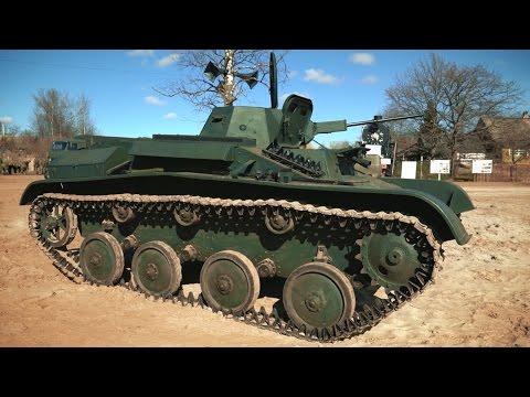 Техника Победы: Танк Т60.