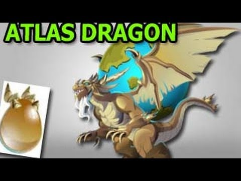 ATLAS DRAGON from Olympus Island in Dragon City Review