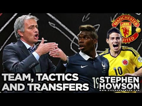 Jose Mourinho's Starting XI, Formation & Transfers | Paul Pogba? Manchester United