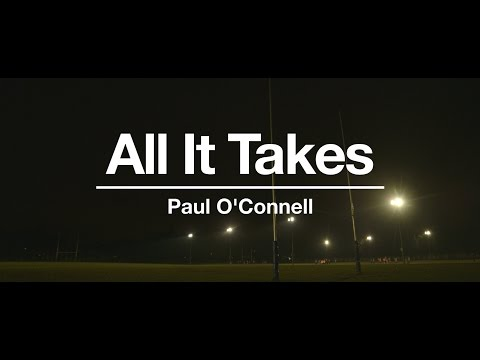 Paul O'Connell All It Takes