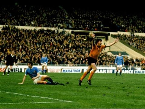 Wolves v Manchester City, League Cup Final, 2nd March 1974 [First Half]