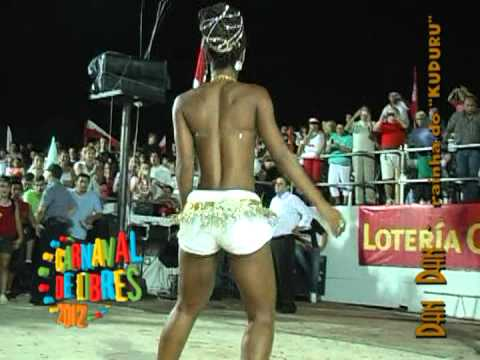 Dan Dan Dança Kuduro Em Libres - Everaldo Jacques 2012 video