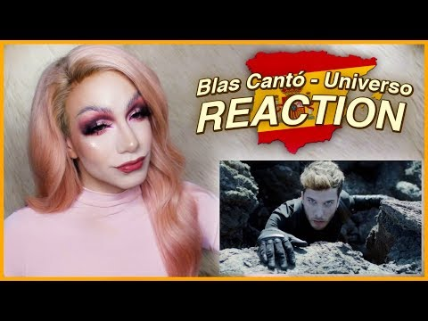 SPAIN - Blas Cantó - Universo | Eurovision 2020 REACTION