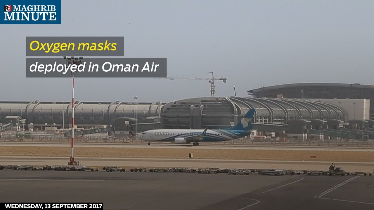 Oxygen masks deployed on Oman Air flight