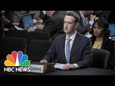 Facebook CEO Mark Zuckerberg Testifies Before Senate Full  NBC News