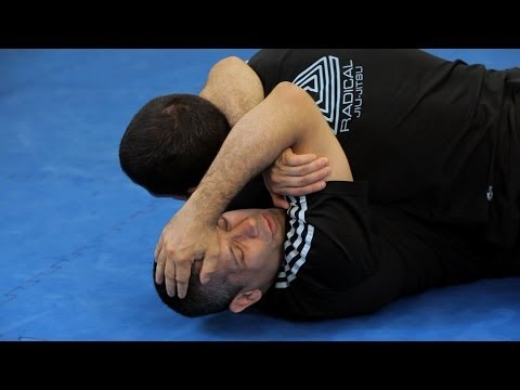 Arm Triangle Choke from Bottom Half Guard | MMA Submissions Image 1