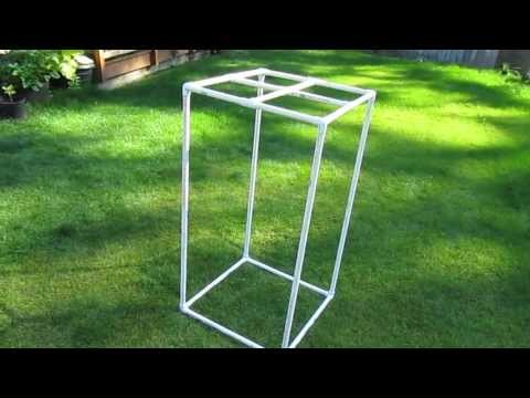 Building A Grow Tent With Pvc  Part 1