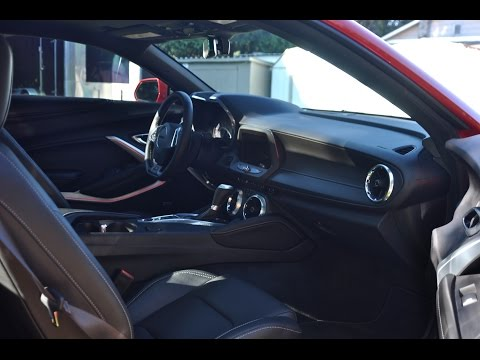 Camaro - Memory seats and Eject mode