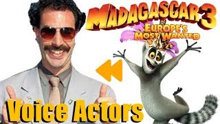 """Madagascar 3"" Voice Actors and Characters"