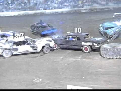 demolition derby 7 30 05 whaling days kdda big car main