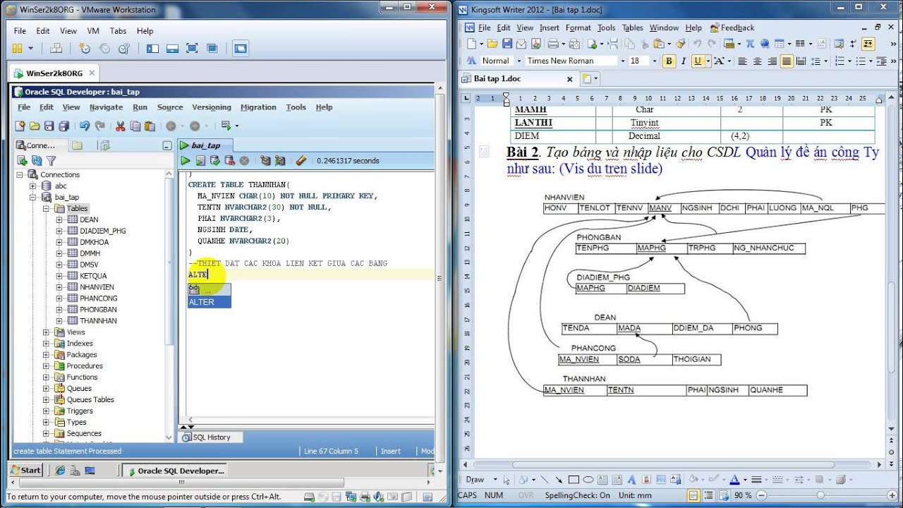Create table in oracle11g with oracle sql developer youtube - Create table in oracle sql developer ...