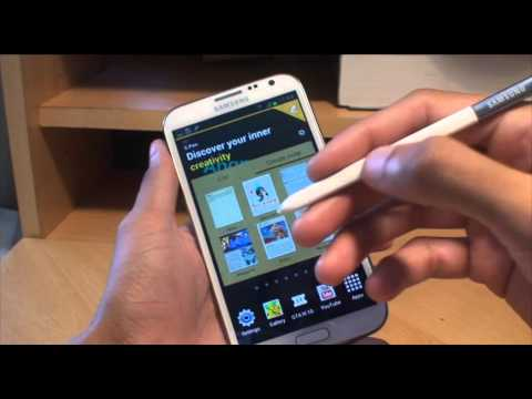 How to take Samsung Galaxy Note 2 Screen Shot Capture Print Screen >>