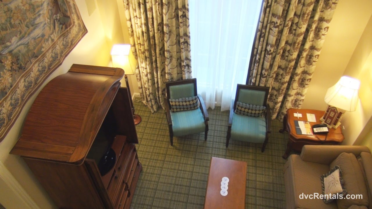 Saratoga springs resort spa room tours grand villa - 2 bedroom villas near disney world ...