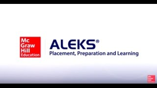 Welcome to ALEKS Placement, Preparation and Learning (PPL)