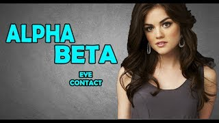 ALPHA MALE EYE CONTACT | SIGNS YOUR EYE CONTACT IS BETA | PICKUP GIRLS WITH THE ALPHA GAZE