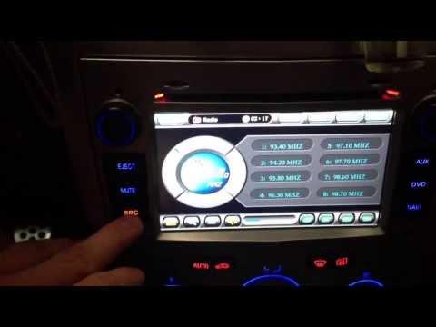 Opel Astra H Doppel Din Radio Tuning Navigation Navi DVBT 2Din