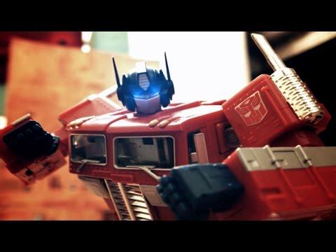 Transformers Generation Movie Stop Motion video