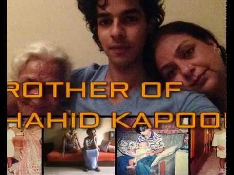 ISHAAN KHATTAR (शहीद कपूर के भाई )  living very Simple life with Single Mother