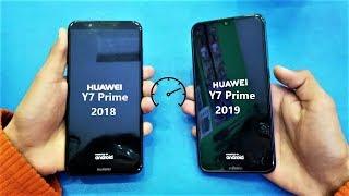 Huawei Y7 Prime (2019) vs Huawei Y7 Prime (2018) - Speed Test - (HD)