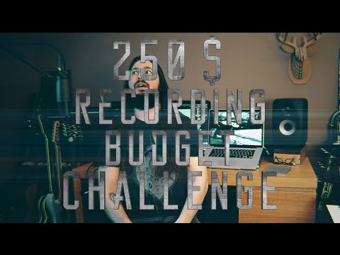 EP.1 250$ Complete studio Recording Budget Challenge: With Presonus Audio Box Studio
