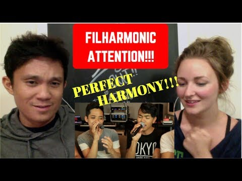 REACTION to The Filharmonic ft. Danny Padilla - ATTENTION by CHARLIE PUTH (Live A Cappella Cover)