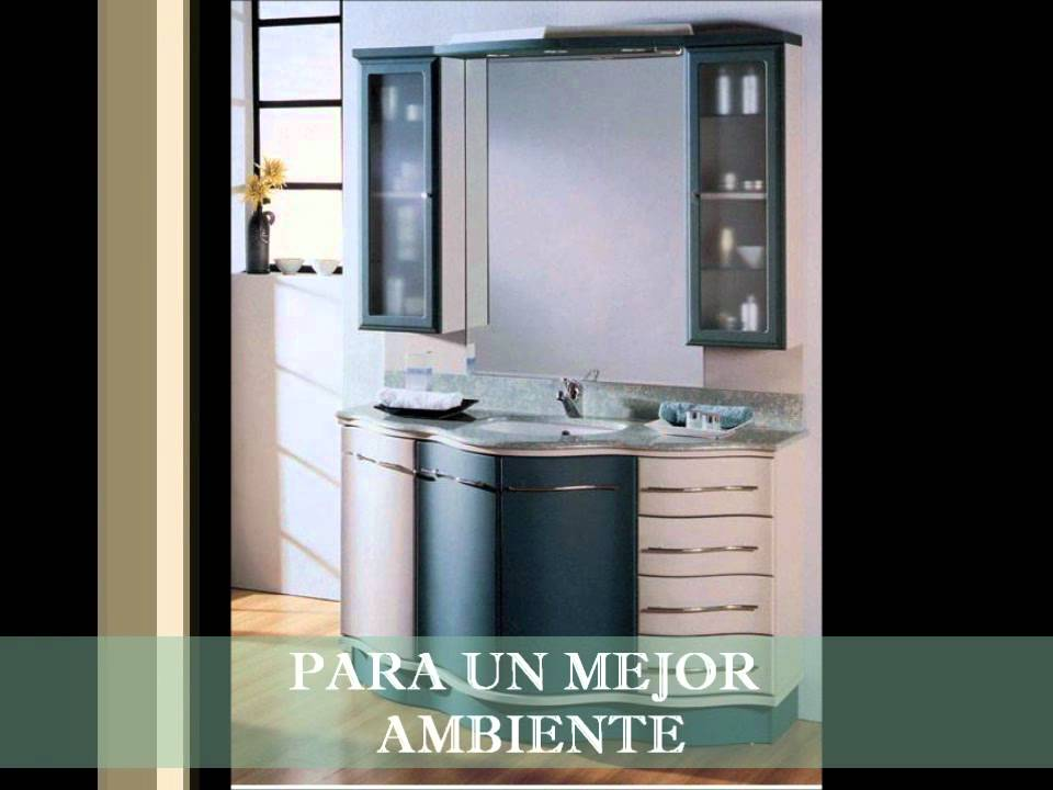 Muebles para ba o espacio y decoraci n youtube for Muebles de bano coloniales