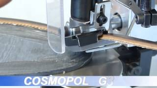 COSMOPOL G3003 - APPLICAGUARDOLO AUTOMATICA - AUTOMATIC ELECTRONIC WELT APPLYING MACHINE