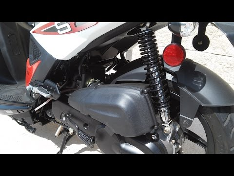 Kymco Super 8 50cc Gear Oil Change