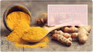 Turmeric Body & Face scrub (for dry & sensitive skin)