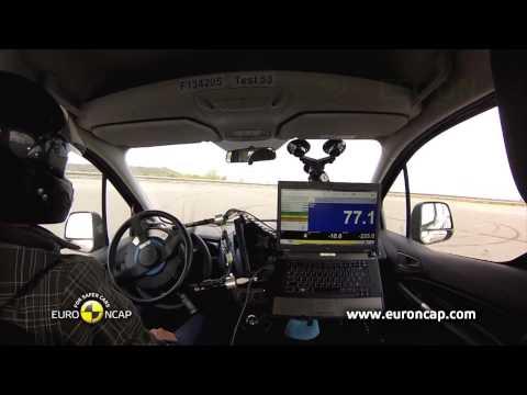 Euro NCAP | Ford Tourneo Connect | 2013 | Электронный контроль устойчивости