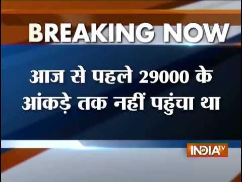 Breaking News: Sensex Breaches 29,000-mark; Nifty hits new peak