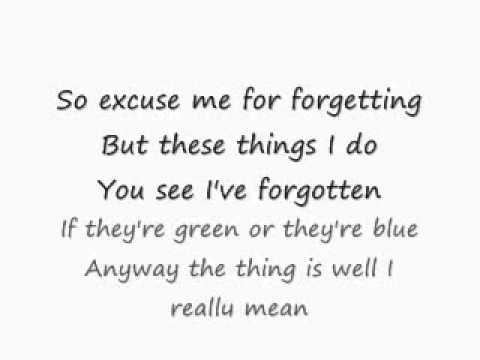 your song lyrics ewan macgregor: