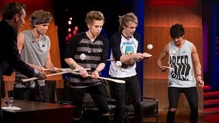 5 Seconds of Summer learn about Irish hurling and sliotars! | The Late Late Show