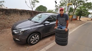 New Tyres for Elite i20 | Gagan Choudhary