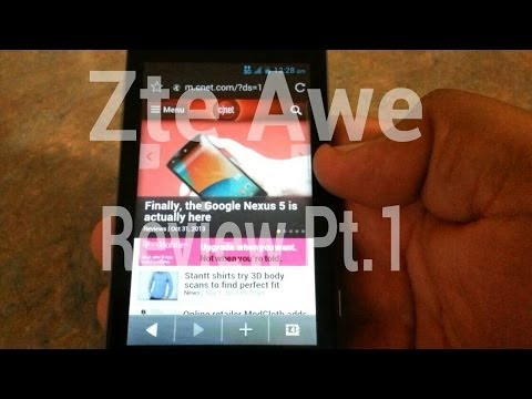 {Virgin mobile} Zte Awe review Pt.1